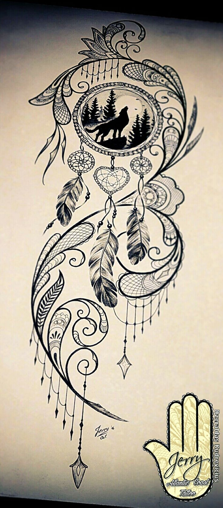 A Design Dream: Dream Catcher Tattoo Design