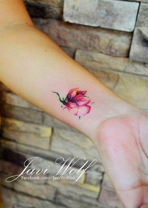 Watercolor Tattoo Mini Watercolor Tattoos Wrist Tattoos Tattoo