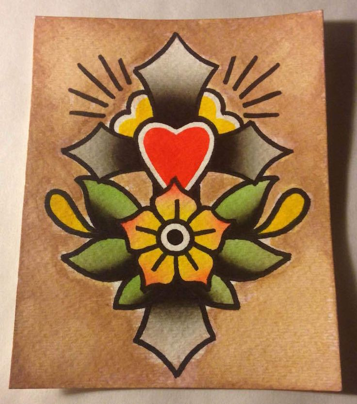 Sailor Jerry Flash Flower