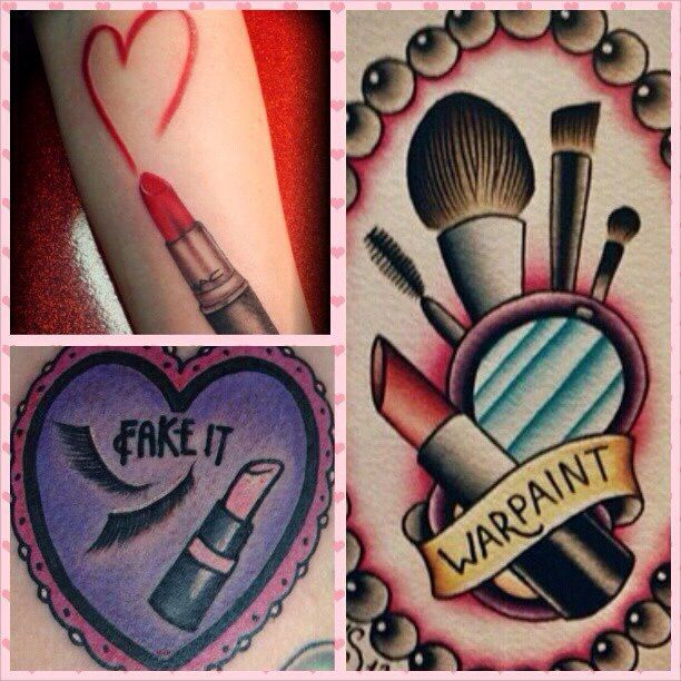 Makeup tattoos