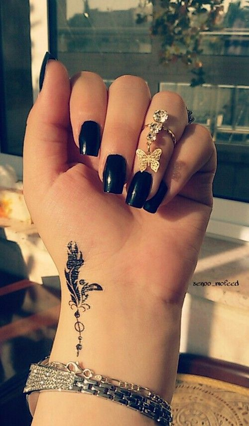 Small Tattoo Designs For Girls: Small Tattoo Ideas And Designs For Women