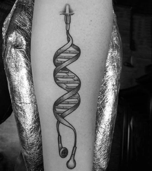 60 DNA Tattoo Designs For Men