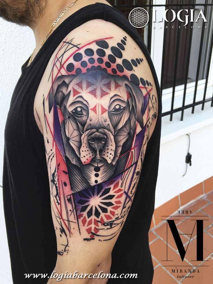 Geometric tattoo artist abel miranda info citas for How to email a tattoo artist