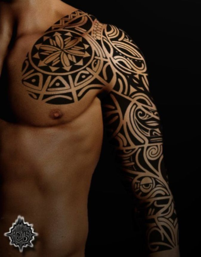 Tattoo Trends - 22 Tribal Forearm Sleeve Tattoo Designs ...