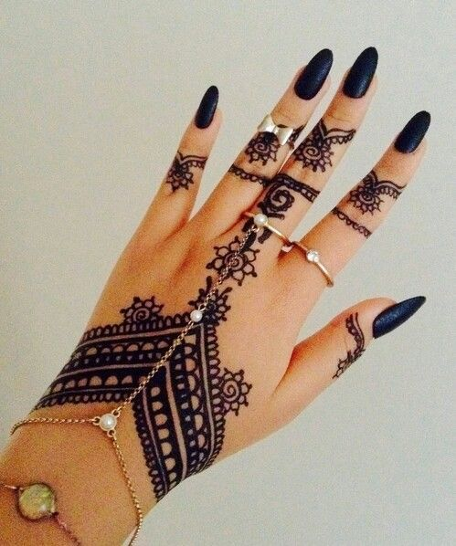 97 Jaw Dropping Henna Tattoo Ideas That You Gotta See: 97 Jaw-Dropping Henna Tattoo Ideas That