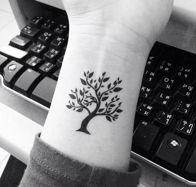 tree tattoo tree of life cute small tattoo your number one source. Black Bedroom Furniture Sets. Home Design Ideas