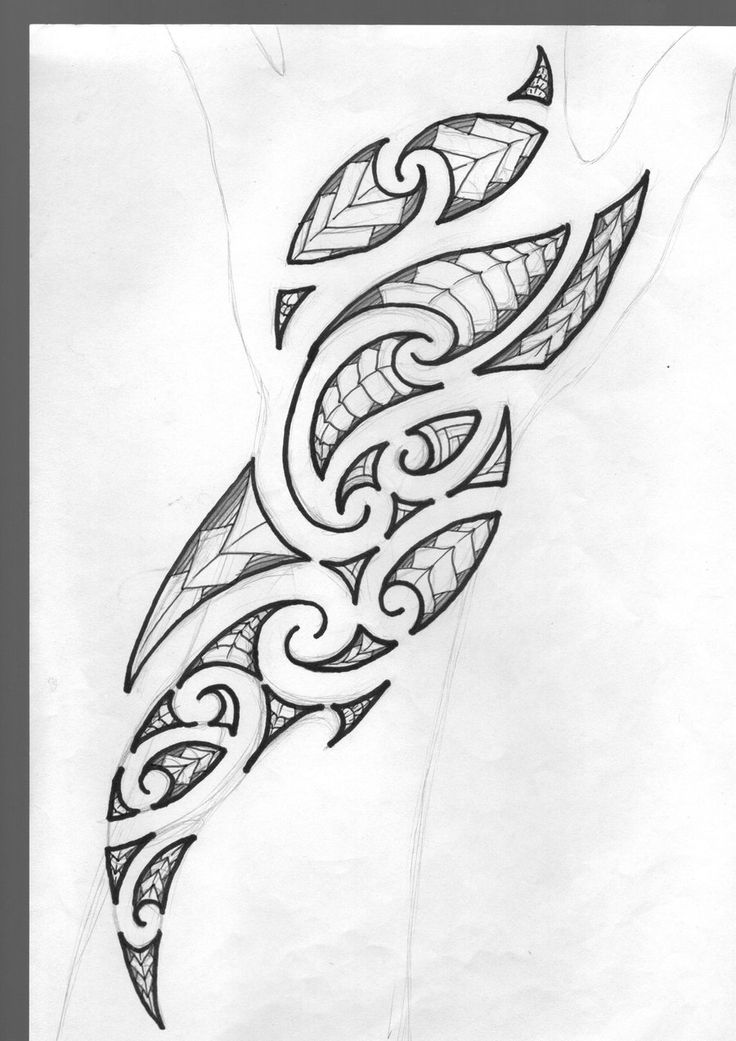Small Maori Tattoo Designs: Maori Tattoo Design