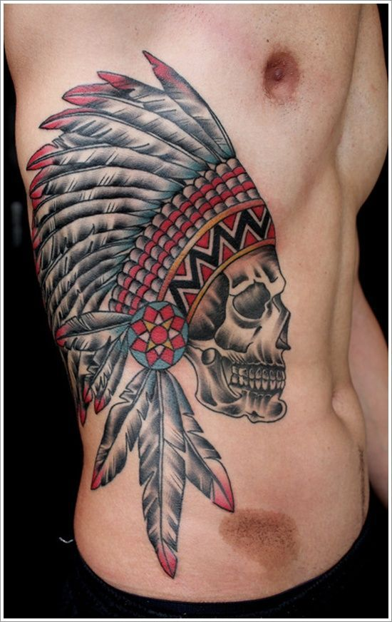 120ef43fd Tattoo Ideas for Men - 22 of the BEST Rib Tattoos... - TattooViral ...