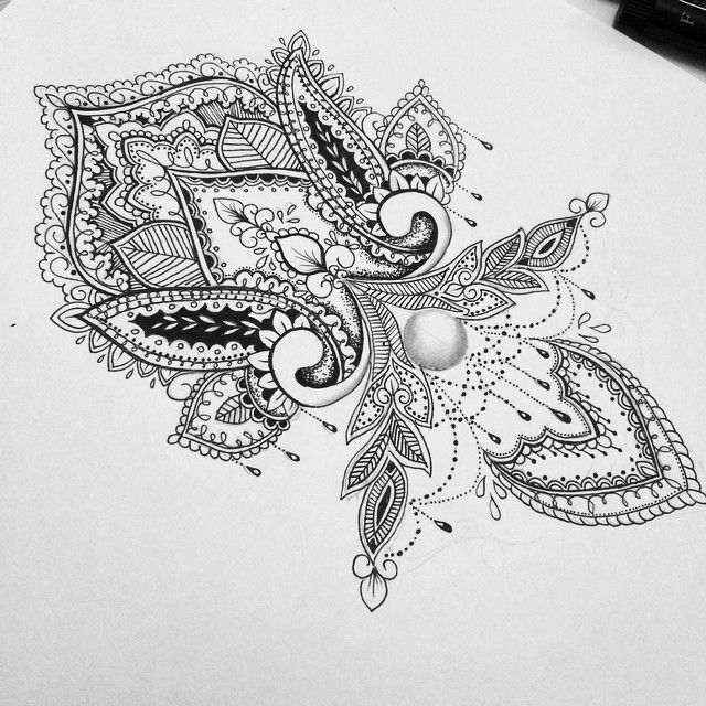 I Want This Mandala Design On My Wrist