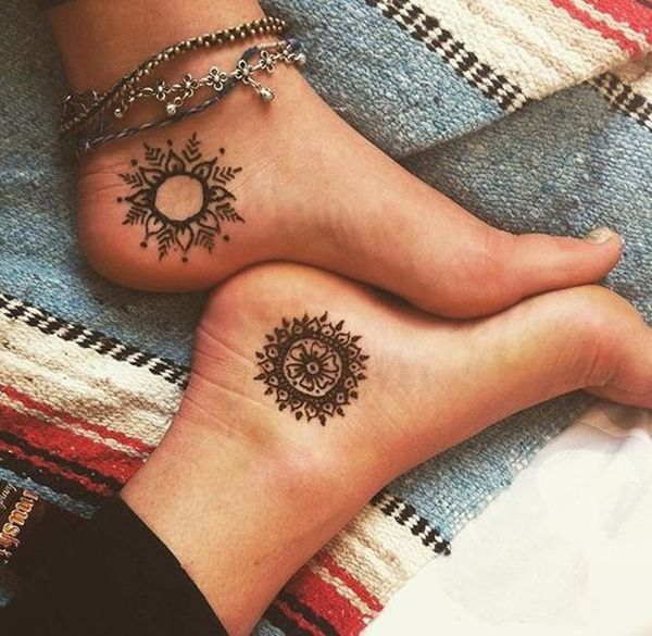 Friend Tattoos - Best Friend Tattoos - 22 Cute And Small Tattoo ...