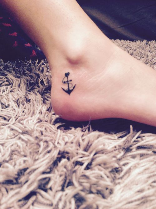 Friend Tattoos Anchor Ankle Tattoo Girly Tattoos