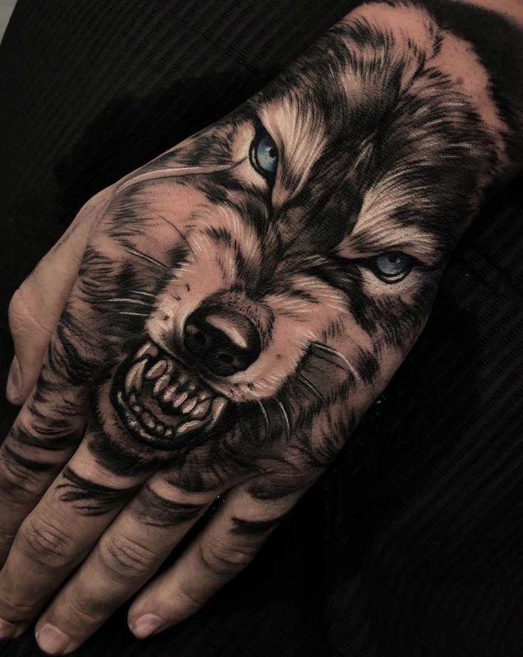 ea62d6770 Animal Tattoo Designs - 70 Brilliant Hand Tattoos for Men and Women ...
