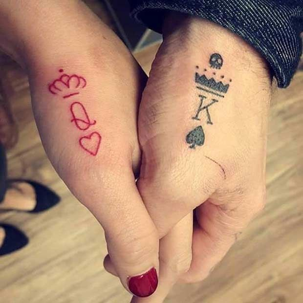 476e92506abd7 Couples Tattoos - 81 Cute Couple Tattoos That Will Warm Your Heart ...