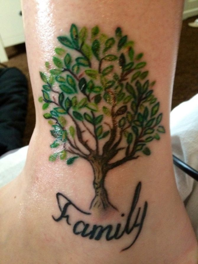 Tree Tattoo 30 Family Tree Tattoos Tattooviral Com Your Number